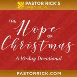 Die Hoffnung von Weihnachten