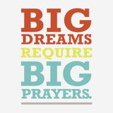 Big Dreams, Big Prayers: A 6-Day Devotional for Kids