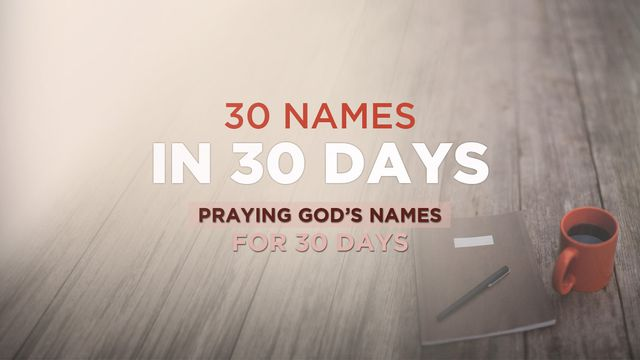Sample Front Elevation Worship : Days to pray through god s names in his exciting new
